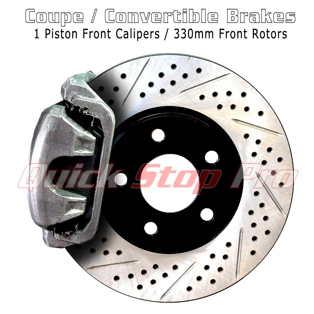 NIS030SDO 370Z G37 Sport 355mm Performance Brake Rotor 09-20 Drill Only
